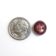 Madagascar Star Ruby Cabs Oval 11x10mm Approximately 10.35 Carat