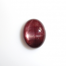 Madagascar Star Ruby Cabs Oval 11x9mm Approximately 4.66 Carat
