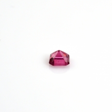 Pink Spinel Emerald Cushion Shape 4.5mm 0.53 Carat Single Piece