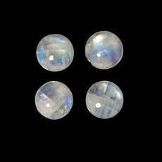 RAINBOW MOONSTONE CABS  ROUND 11MM APPROXIAMTELY 17 CARAT