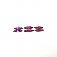 Raspberry Garnet Marquise Shape 7x3.5MM Approximately 2.68 Carat