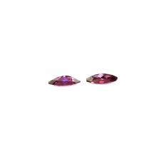 Raspberry Garnet Marquise Shape 8x4MM Matched Pair Approximately 1.09 Carat