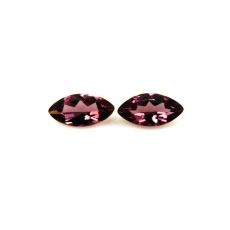 Raspberry Garnet Marquise Shape 9x4.5MM Matched Pair Approximately 1.60 Carat