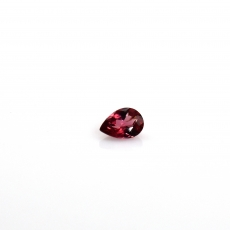 Red  Spinel Pear Shape 6x4mm 0.50 Carat Single Piece