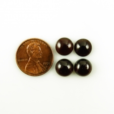 Red Garnet Cabs Oval 9mm Approximately 15 Carat
