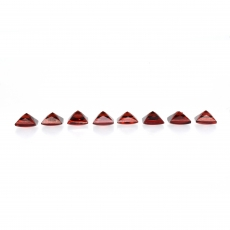 Red Garnet Cabs Princess Cut 5mm Approximately 6 Carat