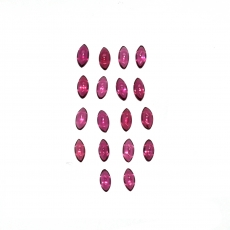 Rhodolite Garnet Cabs Marquise 5x2.5mm Approximately 4 Carats