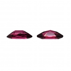 Rhodolite Garnet Marquise Shape 10x5mm Matching Pair Approximately 2.40 Carat