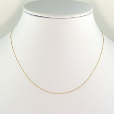 ROLLER 14K YELLOW GOLD CHAIN 16IN