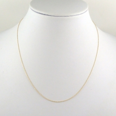 ROLLER 14K YELLOW GOLD CHAIN 18IN