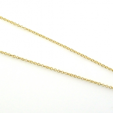 ROLLER 14K YELLOW GOLD CHAIN 20IN