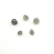 Rough Diamond Rough Shape 2mm To 3mm Approximately 1 Carat