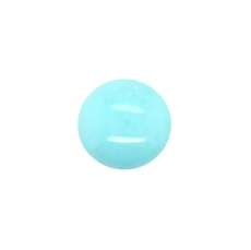 Turquoise Cab Round 12mm Single Piece 4.71 Carat