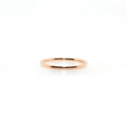 0.17 Carat Diamond Ring In 14k Rose Gold
