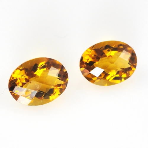 Citrine Approximately 8.20 Carat Oval 12x10mm