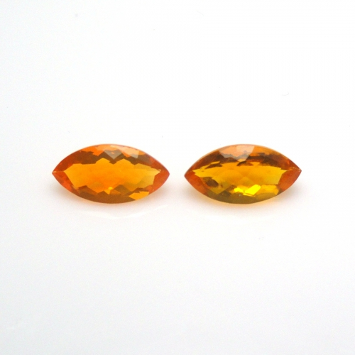 Fire Opal Approximately 1.25 Carat  Marquise 10x5mm