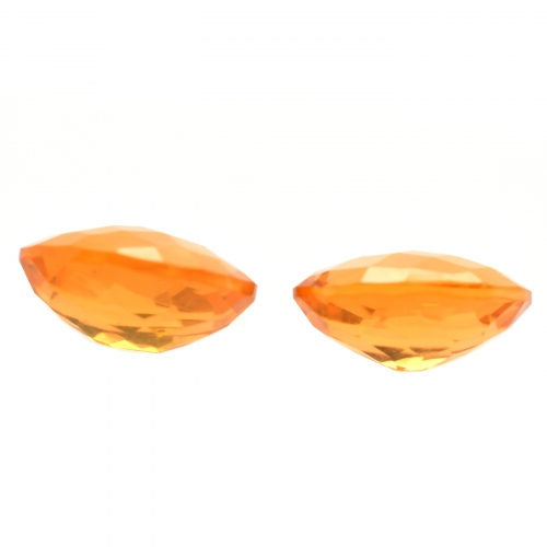 Fire Opal Oval 8x6mm Approximately 1.50 Carat