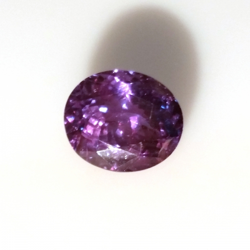 Gia Certified Natural Alexandrite Oval 8.31x7.09x4.93mm 2.28 Carat