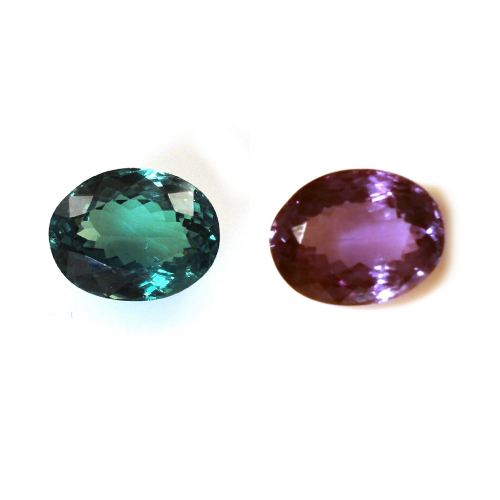 Gia Certified Natural Alexandrite Oval 8.93 X 6.95 X 4.77 Mm 2.69 Carat