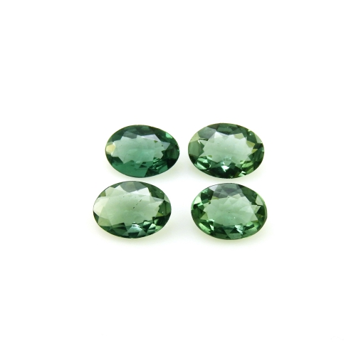 Green Apatite Oval 7x5mm Approximately 2.48 Carat