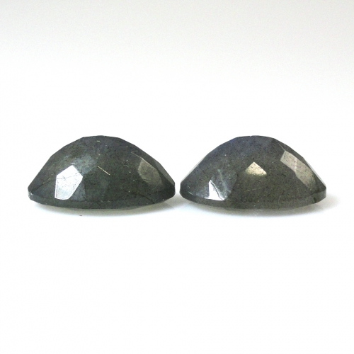 Labradorite  Oval 14x10mm Matched Pair Approximately 10 Carat