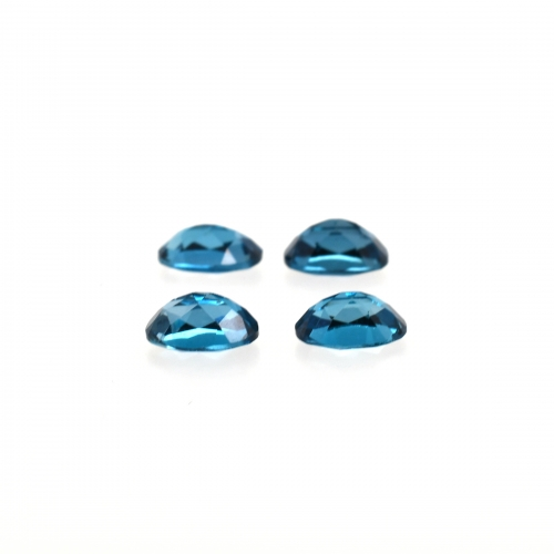London Blue Topaz Oval 7x5 Approximately 3.70 Carat