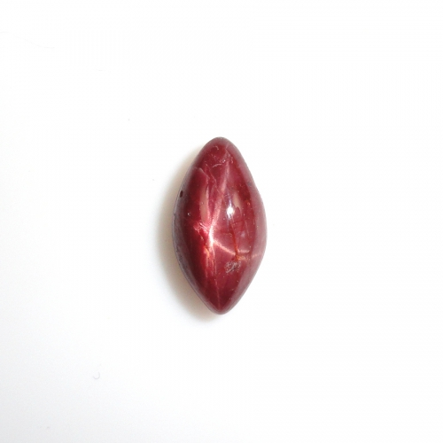 Madagascar Star Ruby Cabs Marquise 12.6x6.8mm Approximately 3.95 Carat