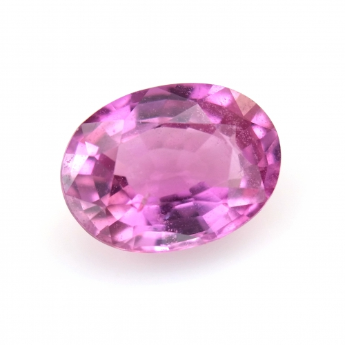 Pink Sapphire Oval 7x5mm 1 Carat Single Piece*