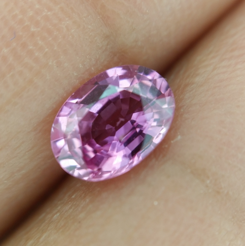 Pink Sapphire Oval 7x5mm 1.12 Carat Single Piece*